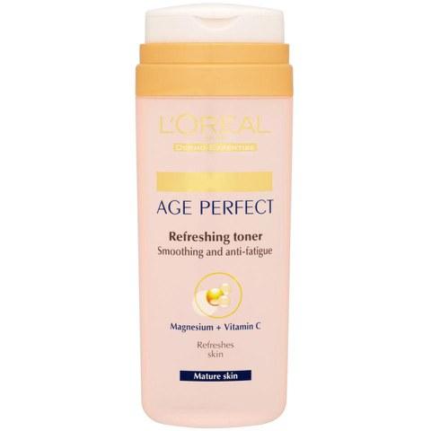 L'Oreal Paris Dermo Expertise Age Perfect Refreshing Toner - Smoothing + Anti-Fatigue (200ml)