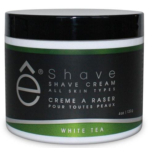 E-Shave weißer Tee Rasiercreme (118ml)