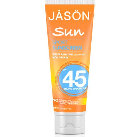 Crème Solaire Sport Spf45 par JASON (113g)