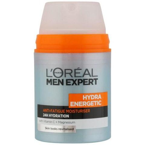 L'Oreal Paris Men Expert Hydra Energetic Daily Anti-Fatigue Moisturising Lotion (50ml)