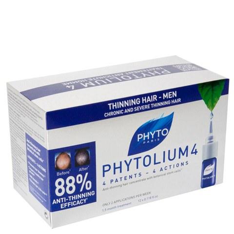 Phyto Phytolium 4 Chronic Thinning Hair Treatment (12 x 3.5ml)