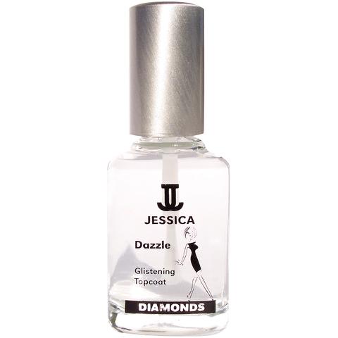 Top coat Jessica Nails Diamonds