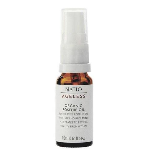 Natio Ageless Organic Rosehip Oil (15ml)