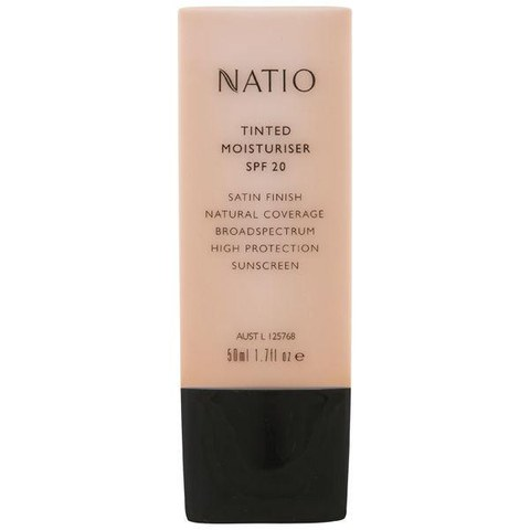 Crema Hidratante Color y con FPS20 Natio - Neutral (50ml)