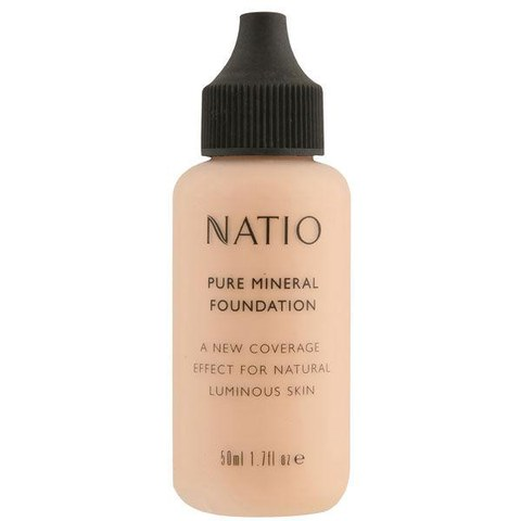 Natio Pure Mineral Foundation - Light Medium (50ml)