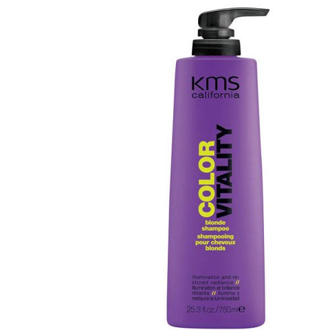 KMS CALIFORNIA COLORVITALITY BLONDE SHAMPOO (blondes Haar) - Supergröße 750ml