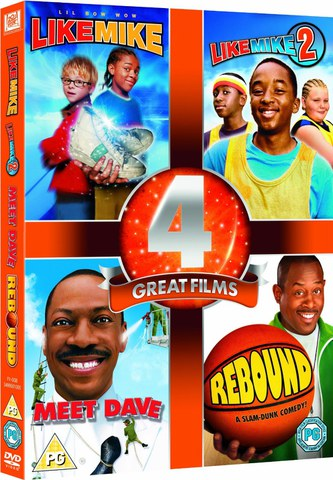 4 Great Films - Like Mike 1 en 2 / Rebound / Meet Dave