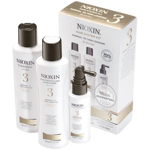 NIOXIN Hair System Kit 3 for Fine, Chemically Treated Hair (3 produkter)