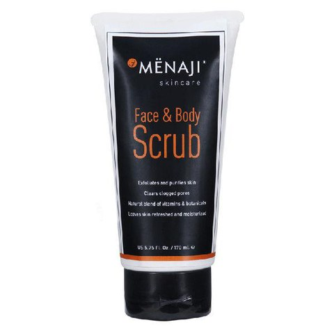 Menaji Face & Body Scrub (5.75oz. / 170ml)