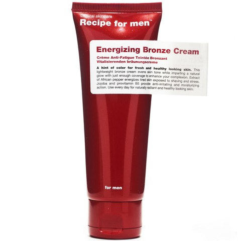 Recipe for Men - Crème Bronze Stimulant 75ml