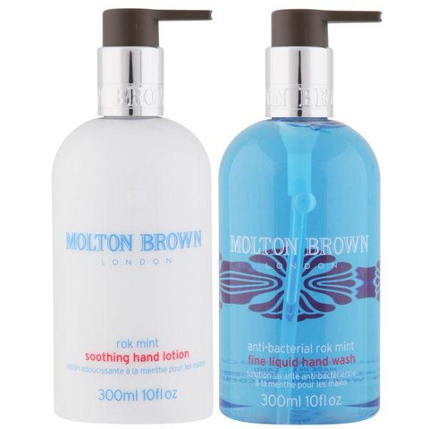 Molton Brown Rok Mint Hand Care Set (Hand Wash & Hand Lotion)