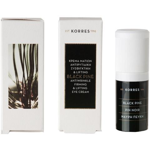 Korres Black Pine Crème des Yeux 15ml