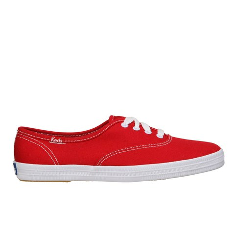 Keds Women's Champion CVO Core Canvas Trainers - Red