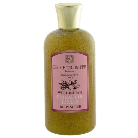 Trumpers Limes Body Scrub - 200ml Travel