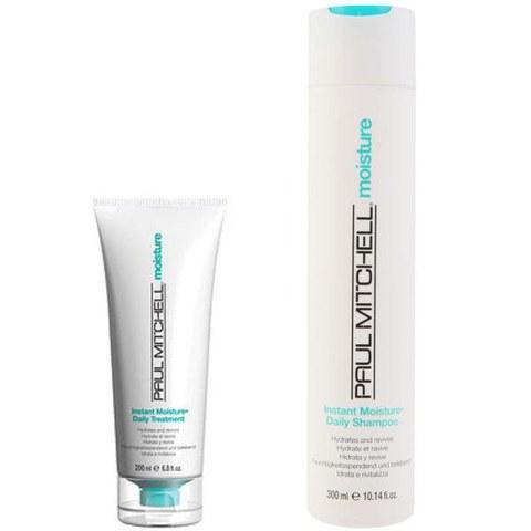 Paul Mitchell Instant Moisture Duo- Shampoo & Daily Treatment