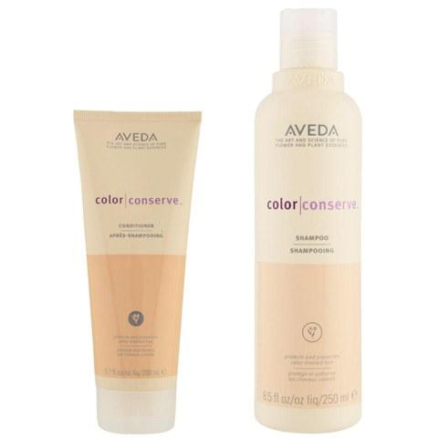 Aveda Colour Conserve Duo - Shampoing & Après-shampoing pour cheveux colorés