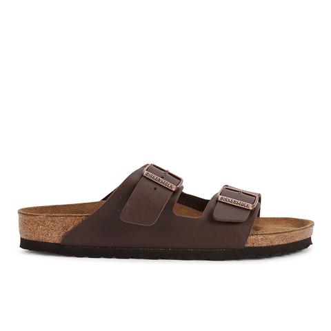 Birkenstock Men's Arizona Double Strap Sandals - Dark Brown