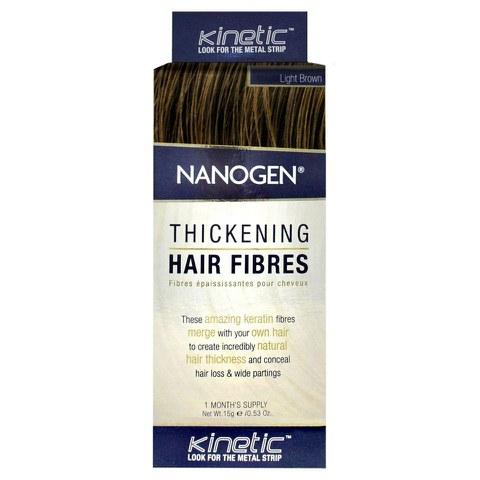 Fibres épaississantes pour cheveux Nanogen Brun clair(15g)
