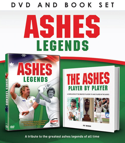 Ashes Legends (Includes Book)