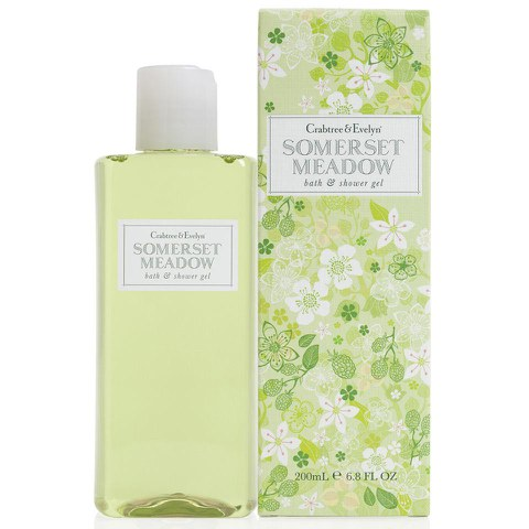 Gel de baño y ducha Crabtree & Evelyn Somerset Meadow