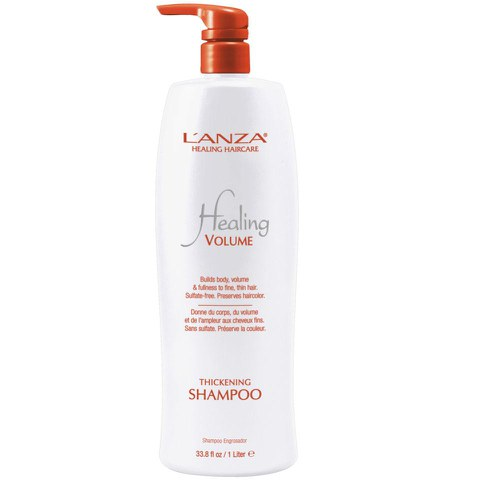 LAnza Healing Volume Thickening Shampoo (1000ml) - (Worth £84.00)
