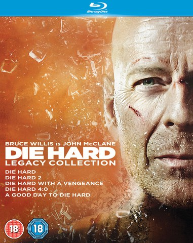 Die Hard 1-5 Legacy Collection (5 Discs)