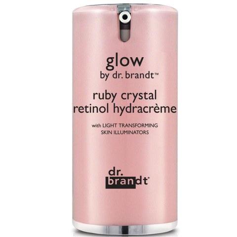 Soin adoucissant éclat Dr. Brandt Glow Ruby Crystal Retinol Hydracreme
