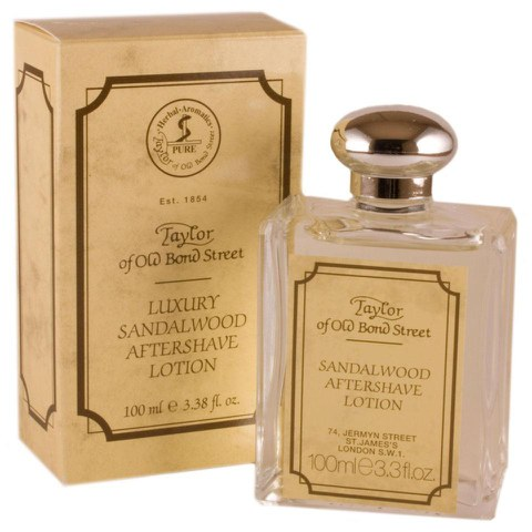 Taylor of Old Bond Street Sandalwood Aftershave Lotion (100ml)