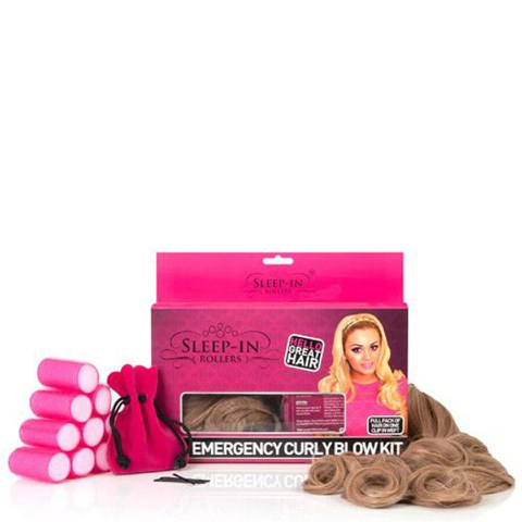 Extensiones Sleep In Rollers Emergency Curly - cabello rizado - Diferentes colores