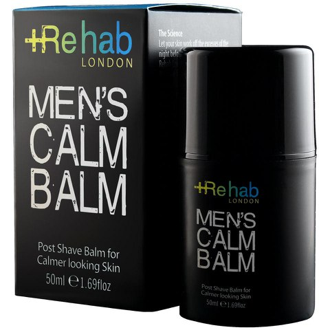 Rehab Men's Calm Balm Aftershave Balsam(50ml)