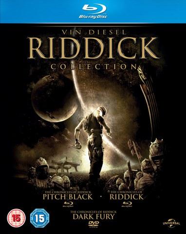 La Colección de Riddick: Pitch Black, Las Crónicas de Riddick: Dark Fury y Las Crónicas de Riddick