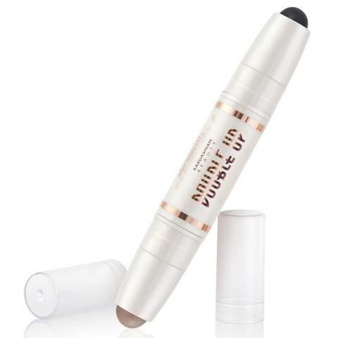 Kardashian Beauty - Double Up Eyeshadow - Black/Diamond