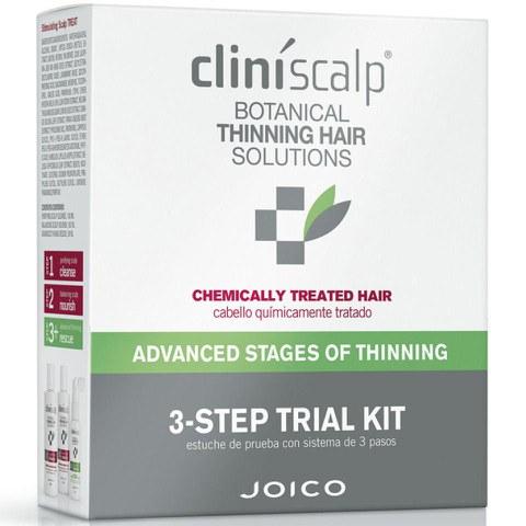 Programme de découverte cheveux chimiquement traités Joico Cliniscalp - étape avancée