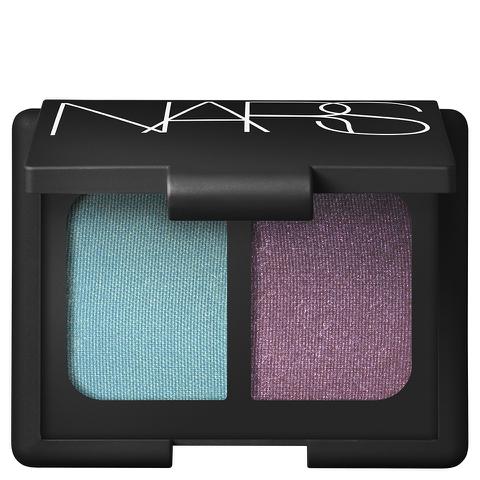 NARS Cosmetics China Seas Duo Eyeshadow - Iridescent Turquoise with Gold Infusion/Iridescent Plum