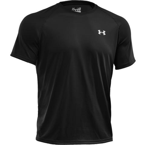 Under Armour Men's Tech Short Sleeve T-Shirt - Black