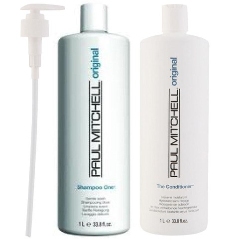 Paul Mitchell Shampoo One Litre Duo