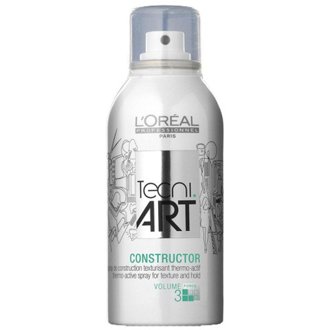 Spray de construction texturisant thermo-actif L'Oréal Professionnel Tecni ART Constructor (150ml)