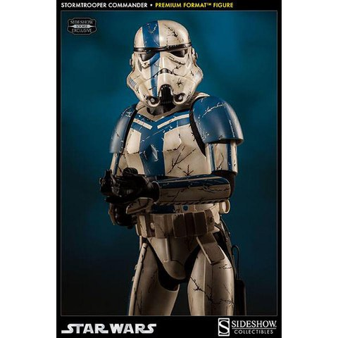 Sideshow Collectibles Stormtrooper Commander Premium Format 19.5 Inch Figure