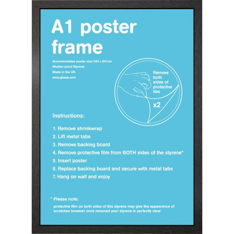 Black Frame A1