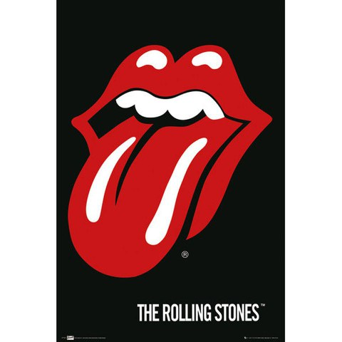 The Rolling Stones Lips - Maxi Poster - 61 x 91.5cm