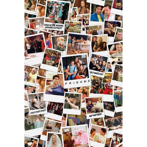 Friends Polaroids - Maxi Poster - 61 x 91.5cm