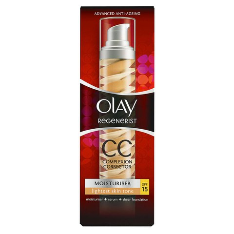 Olay Regenerist Moisturiser CC Cream SPF15 - Light (50ml)
