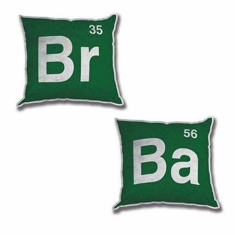 Breaking Bad Logo 12 Inch Plush Pillows