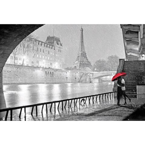Paris Eiffel Tower Kiss - Maxi Poster - 61 x 91.5cm