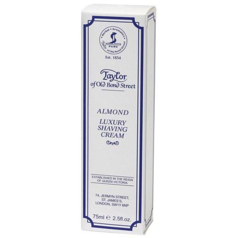 Taylor of Old Bond Street Shaving Cream Tube (75g) - Almond