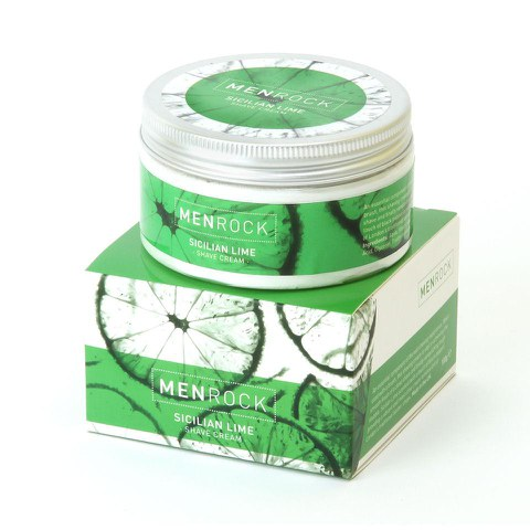 Crema de afeitar Men Rock Sicilian Lime (100ml)