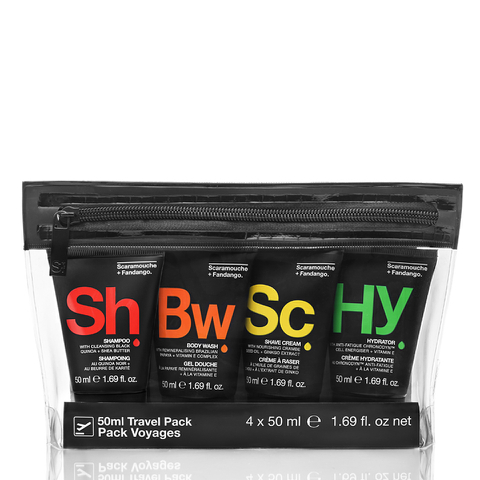 Scaramouche & Fandango Men's Travel Pack (50ml)