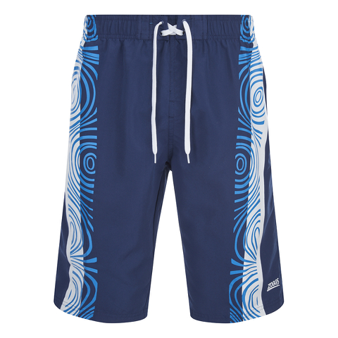 Zoggs Men's Tribal Power 21 Inch Swim Shorts - Navy