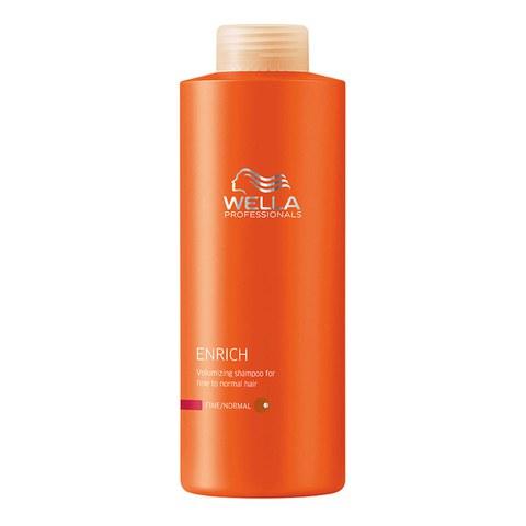 Wella Professionals Enrich shampoing pour cheveux fins (1000ml)
