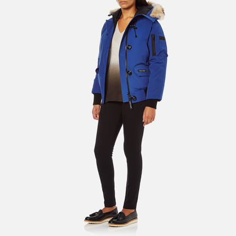 Canada Goose trillium parka outlet store - Canada Goose Women's Chilliwack Bomber Jacket - Pacific Blue ...